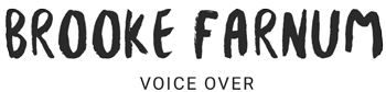 Brooke Farnum Voice Over logo